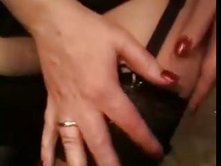 wife in public stocking