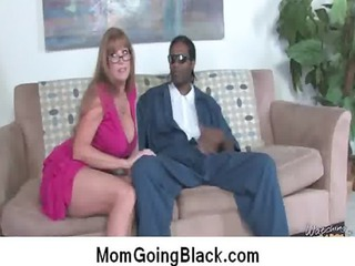 see milf going dark : interracial free porn 4