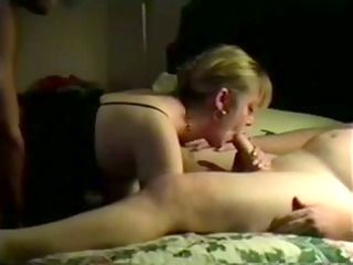 my bitch wife double screwed on camera