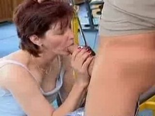 insane old mama acquires recent shlong fucked and