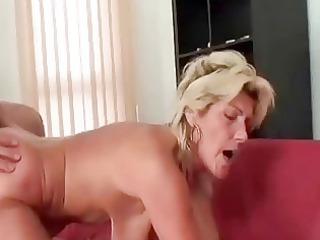 granny swallows a large shlong and copulates it