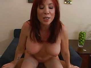 glamorous breasty redhead mother i acquires her