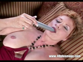 old obscene housewife in solo