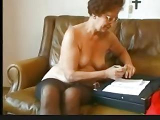 breathtaking septuagenarian susanne undresses and