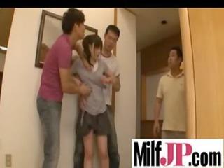 hawt japanese milfs getting hardcore bang clip-13