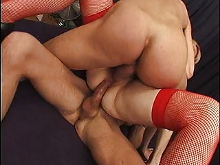 french older takes anal &; an double penetration