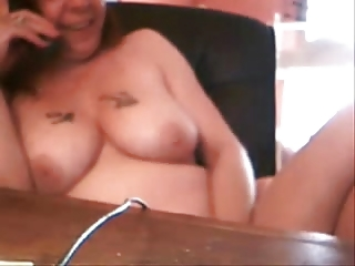 my mommy had phone sex. hidden cam