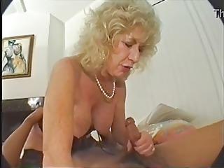 hairy granny likes marital-device and bbc