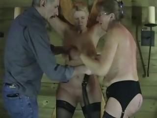 mature amateur slaves in raunchy punishment