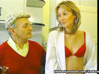 papy seduces neighbors wife