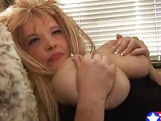 reddish blonde busty young mamma fucks