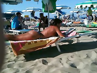 thick booty mother i on the beach