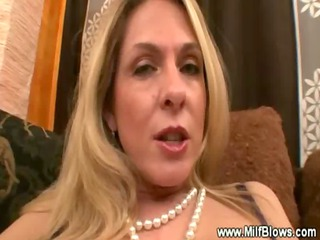 classy milf masturbate then gives soaked and hawt