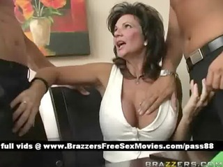 older breasty brunette slut at a rencounter