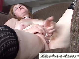 lovely older playgirl has a fat moist love tunnel