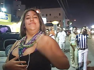 crazy curvy latinas flash their bumpers