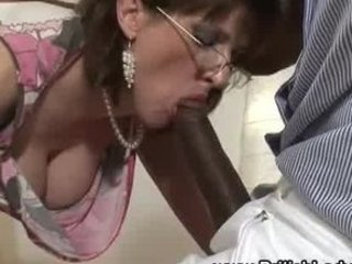 mature brit femdom interracial blowjob