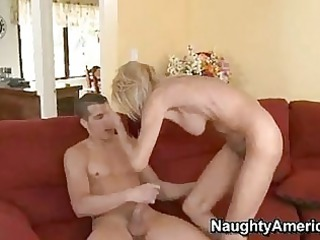 excited momma erica lauren getting drilled on her