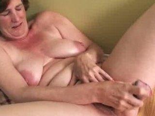 ray lynn aged fake penis masturbation