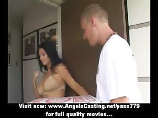 sexy latin babe d like to fuck does blow job for