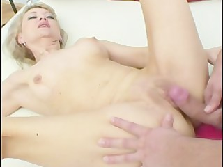 blonde aged looks for younger dick