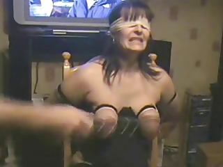 whipping tits of my pliant whore. non-professional