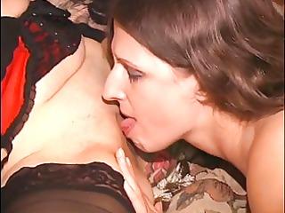 cute dark brown ass licking lesbians in underware