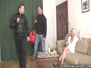 hawt blond older needs fresh cocks