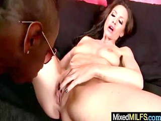milf receive drilled hard by dark pecker clip-73