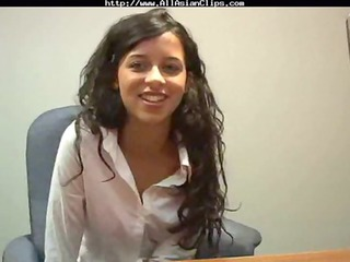 job interview turns into porn clip oriental