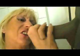 muriel &; michelle - restroom fuck