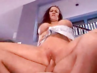 aged mamma fucked in her ass by younger