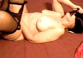 masturbating on sofa