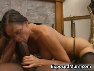 hawt milf in glasses deepthroating dark part5