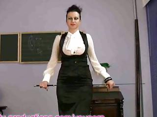 breasty milf teacher masturbating on sex machine