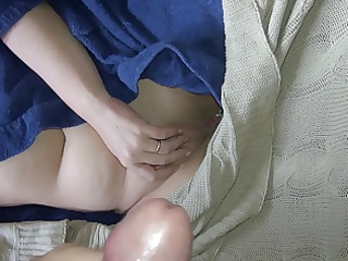 cock juice on my wife