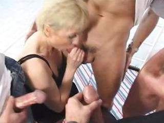 older wife gangbanged