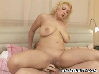 chubby dilettante wife fucking with facial spunk
