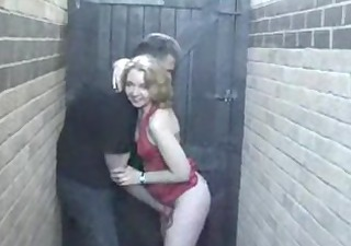 back alley oral-stimulation