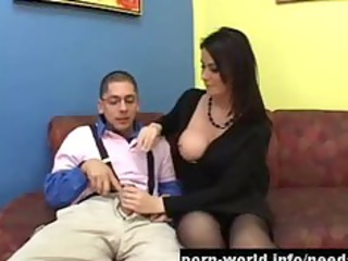 eva karera double permeated at job interview