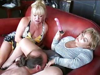 matures toy and dominate guy