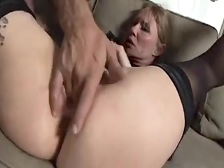 glamorous old grandmother can live out of to anal1