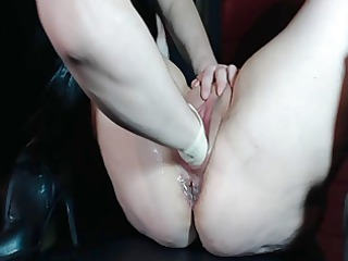 astounding milf fisting squirting &; gushing