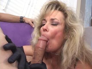 mother id like to fuck slut takes sucks a lad off