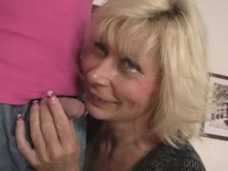 blond mommy seduces her son in law