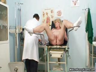 excited doctor abusing a grandma part9