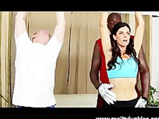floozy wife india summer in interracial cuckold