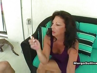sexy mature margo smokin sex