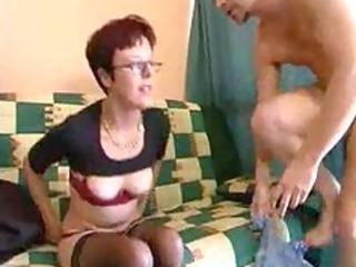 zora granny 110 in black stocking older aged porn