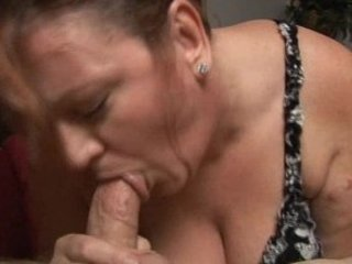 redhead mature big beautiful woman sucks young